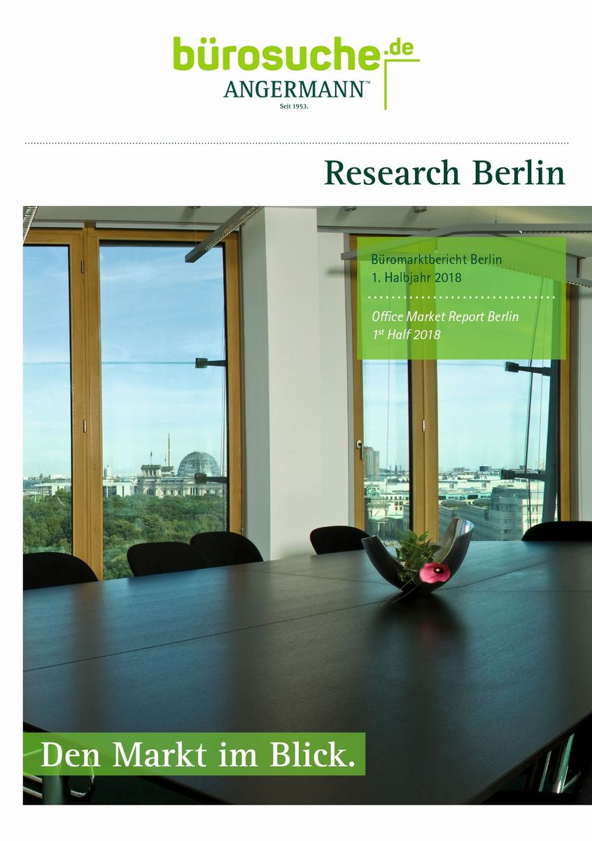 Facts and Figures about office market in Berlin 1st Half 2018